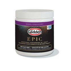 Glidden EPIC Glidden EPIC Opacité En Une Couche Énchantillon Teinter D'Intérieur Blanc 210 mL