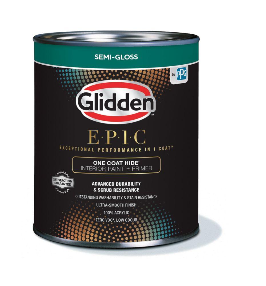CIL EPIC Interior Latex S/G White 916mL-82504