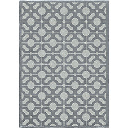 Orian Rugs Huron Harbor Blue 5 ft. 2-inch x 7 ft. 6-inch Indoor Area Rug