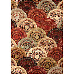 Orian Rugs Parker Multi 5 ft. 3-inch x 7 ft. 6-inch Indoor Area Rug