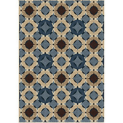 Orian Rugs Orbison Saxe Blue 7 ft. 8-inch x 10 ft. 10-inch Outdoor Area Rug