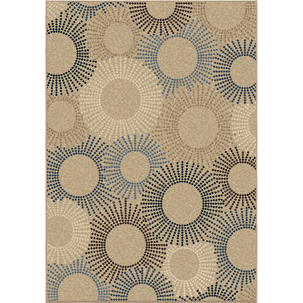 Orian Rugs Ray Of Light Driftwood 7 Ft 8 Inch X 10 Ft 10