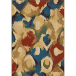 Orian Rugs Foxglove Multi-Colour 5 ft. 3-inch x 7 ft. 6-inch Indoor Area Rug