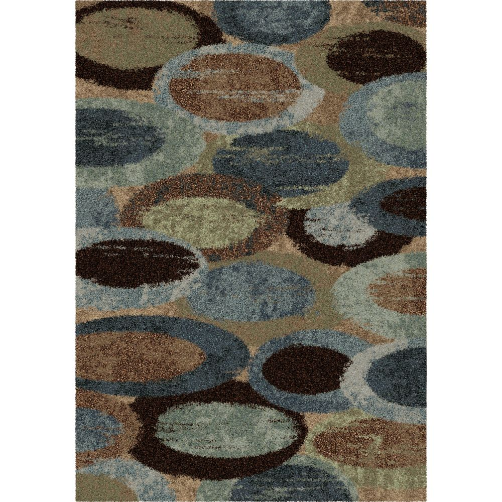Orian Rugs Pulpit Blue 7 ft. 10-inch x 10 ft. 10-inch Indoor Area Rug