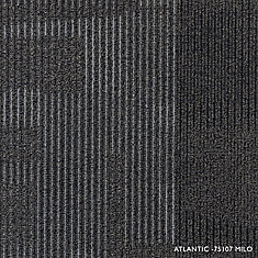 Modular Atlantic Milo Loop 19.68-inch x 19.68-inch Carpet Tile (8 Tiles/case)