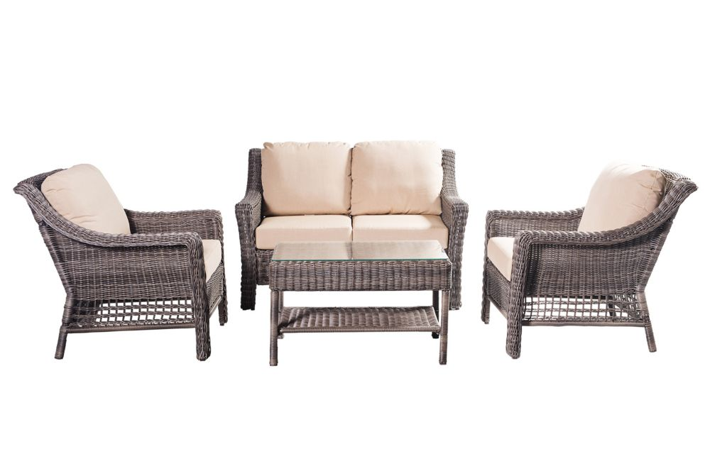 Li & Ming International Aruba 4PC Conversation Set