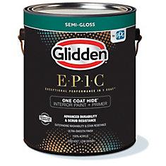 EPIC Interior Latex S/G White 3.66L-82504