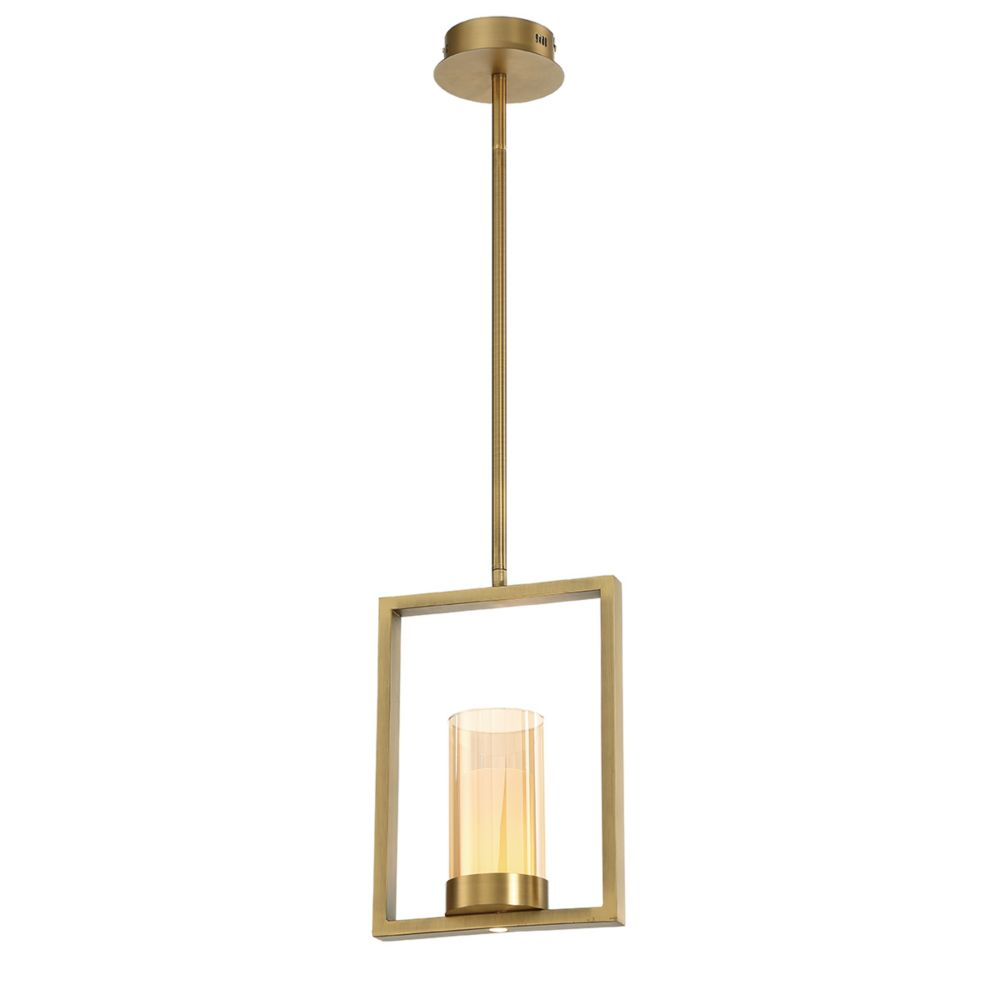 Eurofase Londra LED Light Pendant  in Brass - 34038-024