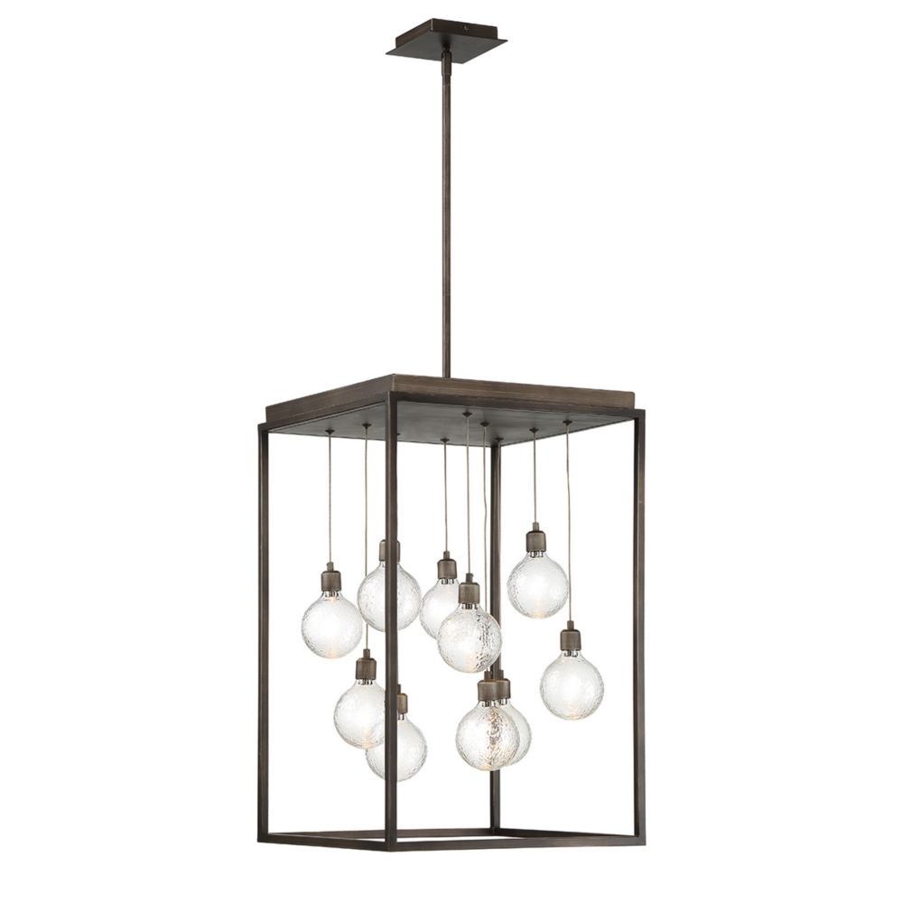 Eurofase Zarina 10-Light LED Chandelier - 34058-015