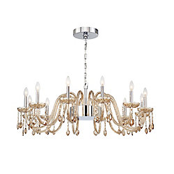 Eurofase Ferrero Grand 16-Light Chandelier in Cognac - 34080-030