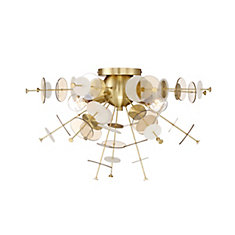 Bonazzi Retro Flushmount in Brass - 34081-013