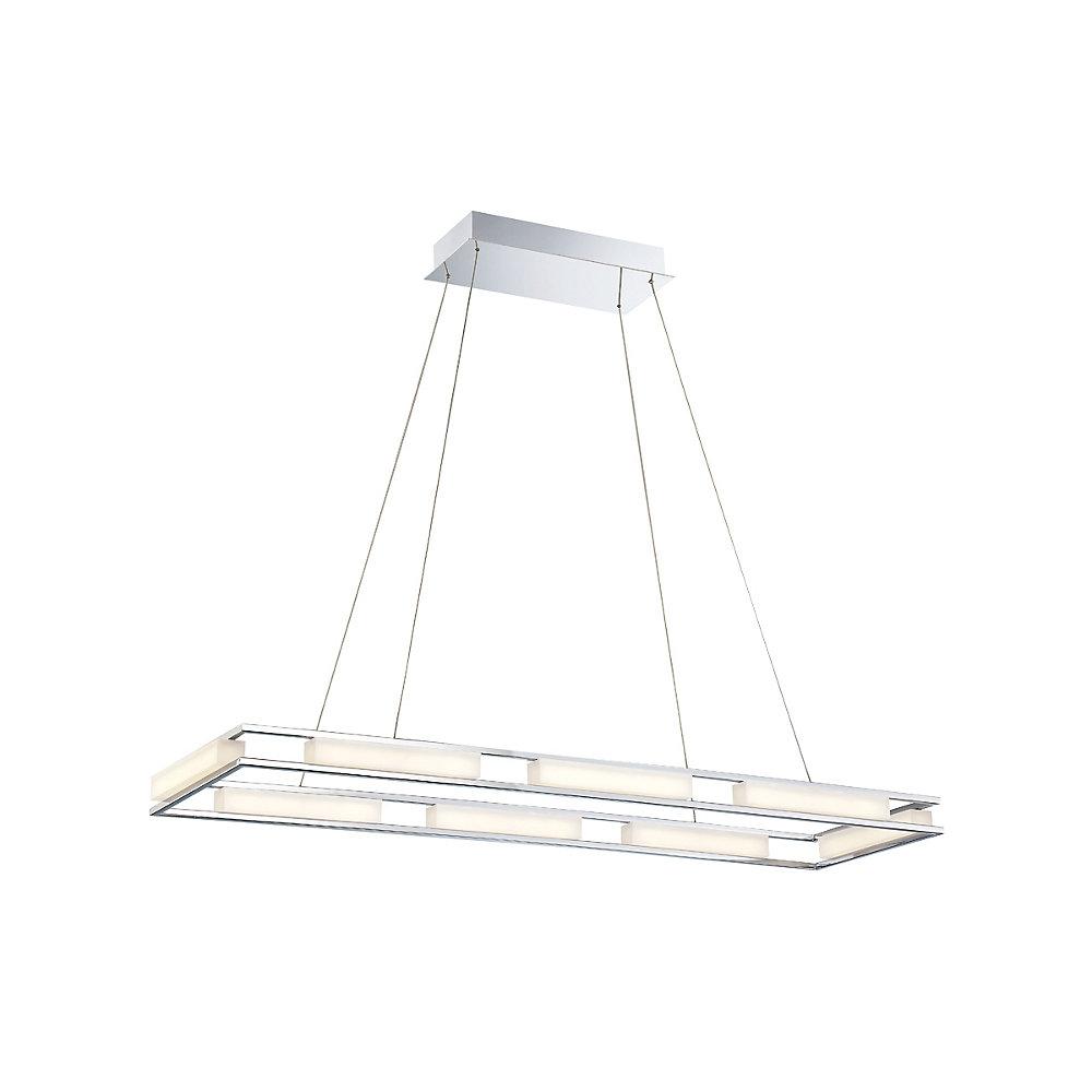 Fanton LED Rectangular Chandelier - 34104-019