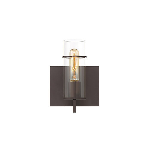 Pista 1-Light Wall Sconce in Bronze - 34133-026