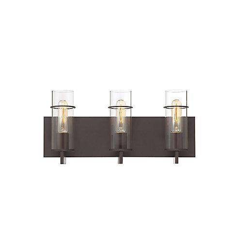 Pista 3-Light Vanity Light in Bronze - 34134-023