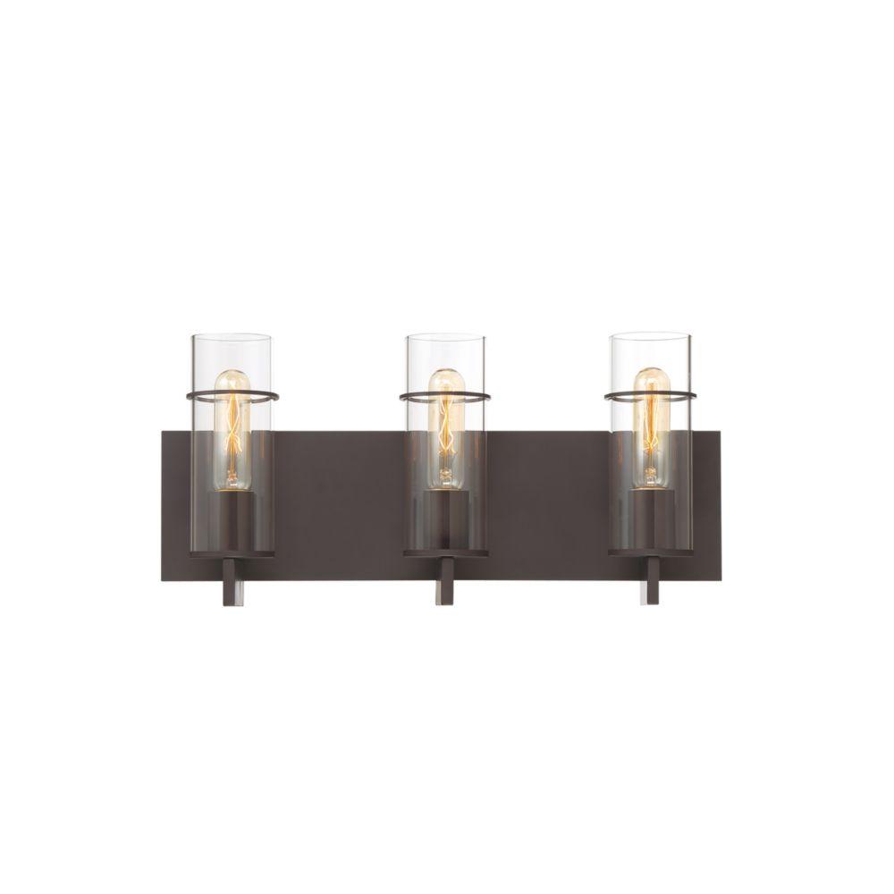 Eurofase Pista 3-Light Vanity Light in Bronze - 34134-023