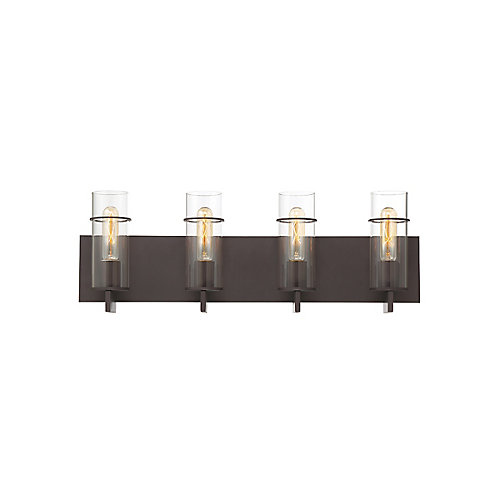 Pista 4-Light Vanity Light in Bronze - 34135-020