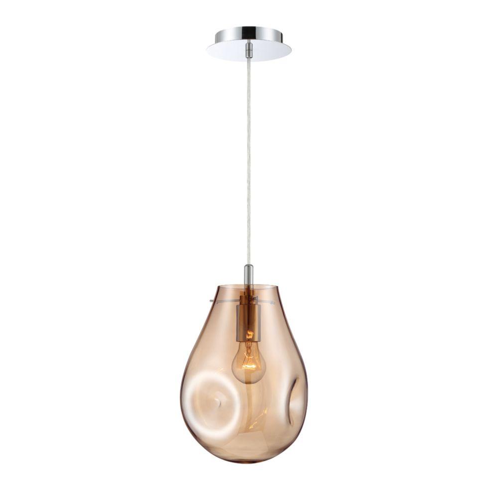 Eurofase Benalto Pearlized Light Pendant in Amber - 34288-016