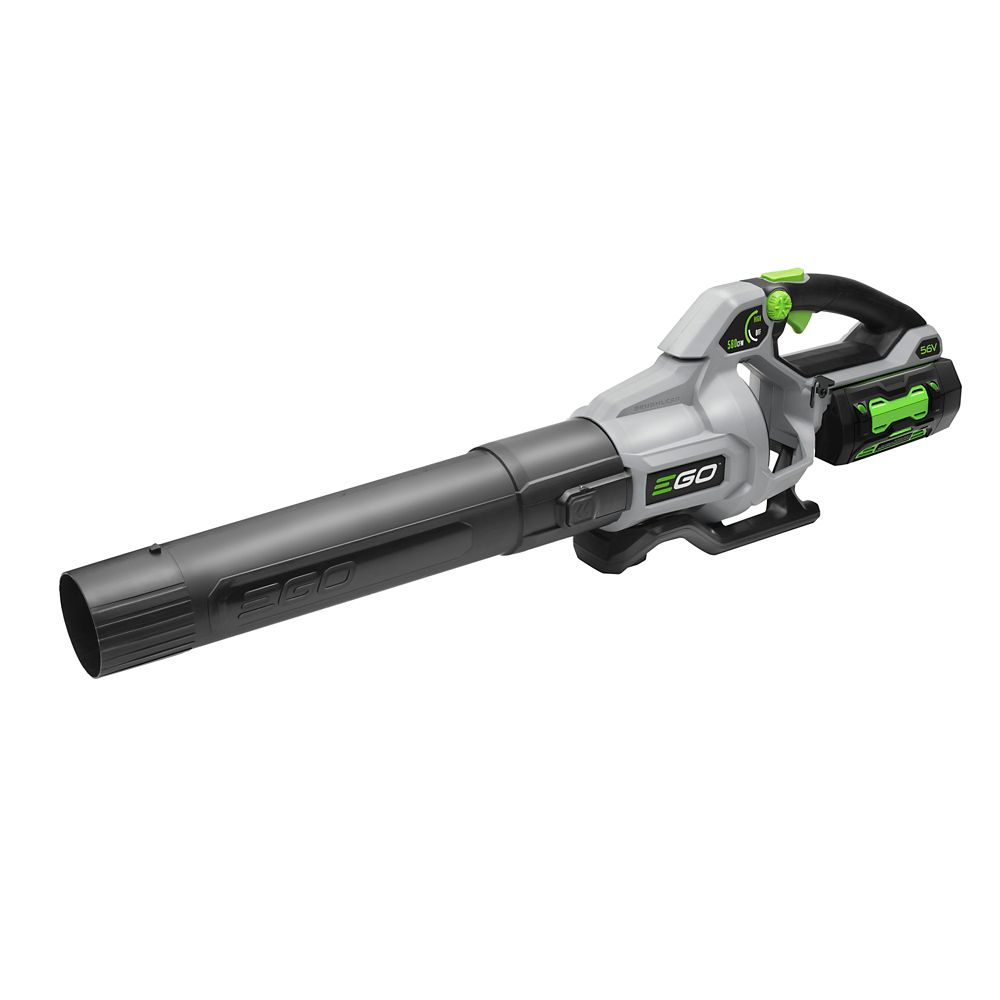 EGO 580 CFM Variable-Speed 56V Li-Ion Cordless Leaf Blower with 5.0 Ah Battery and 210W Charger