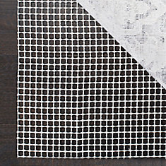 Grid Cream 2 ft. x 10 ft. Non-Slip Surface Rug Pad