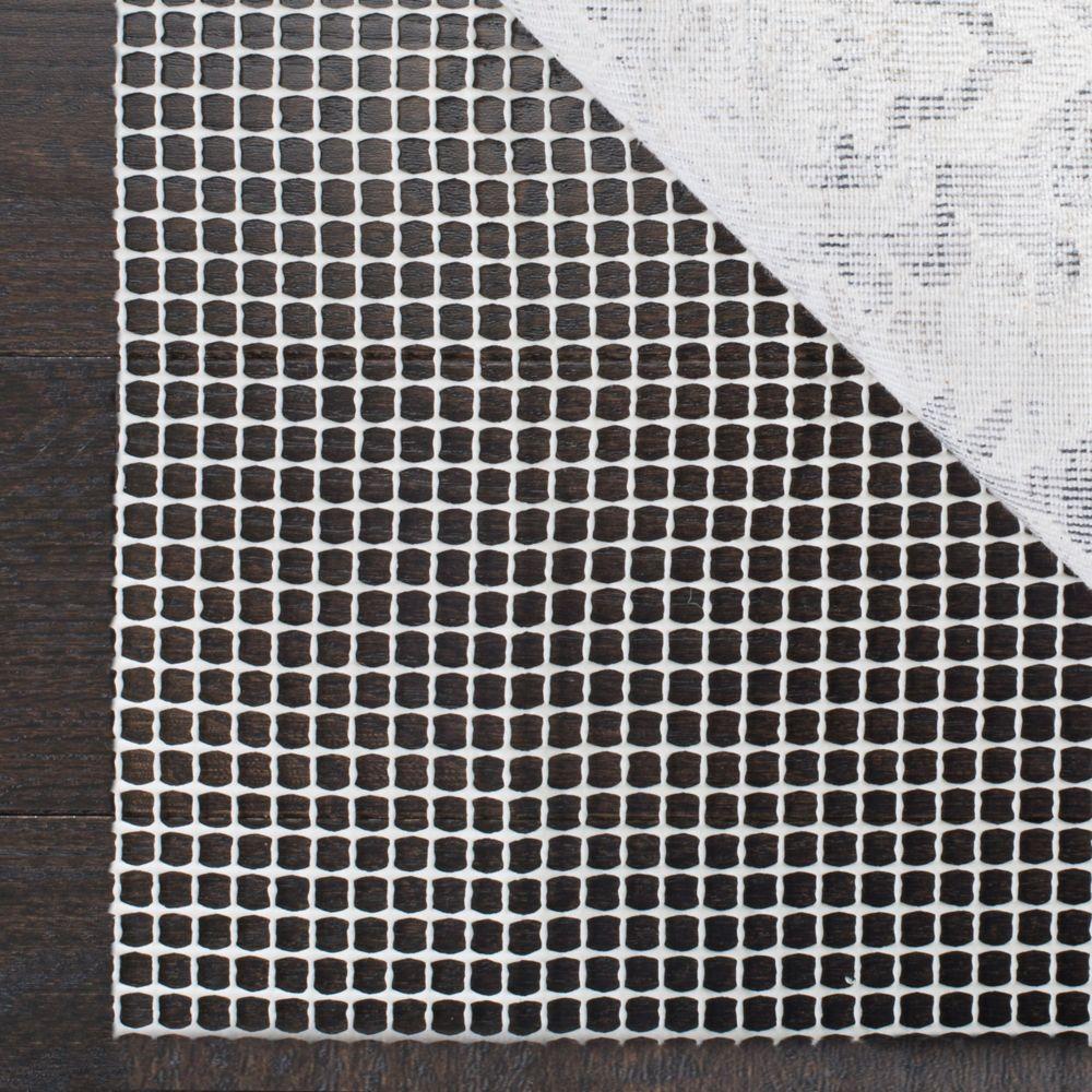 Safavieh Grid Cream 2 Ft X 8 Ft Non Slip Surface Rug Pad