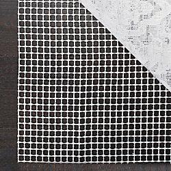 Safavieh Grid Cream 6 ft. x 6 ft. Round Non-Slip Surface Rug Pad