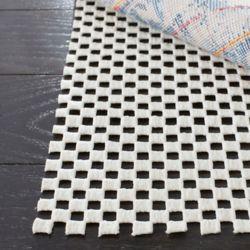 Safavieh Grid White 5 ft. x 8 ft. Non-Slip Surface Rug Pad