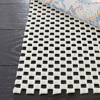 Safavieh Grid White 8 Ft X 10 Non Slip Surface Rug Pad The Home Depot Canada