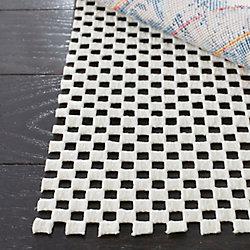 Safavieh Grid White 8 ft. x 10 ft. Non-Slip Surface Rug Pad