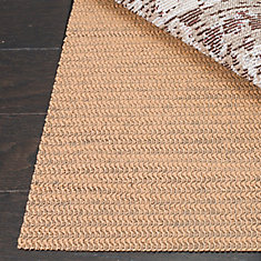 Ultra Beige 4 ft. x 6 ft. Non-Slip Surface Rug Pad