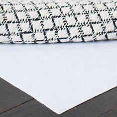Hold White 2 ft. x 8 ft. Non-Slip Surface Rug Pad (Set of 2)