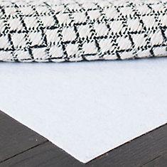 Hold White 5 ft. x 8 ft. Non-Slip Surface Rug Pad