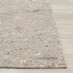 Safavieh Dura Grey 4 ft. x 6 ft. Non-Slip Surface Rug Pad