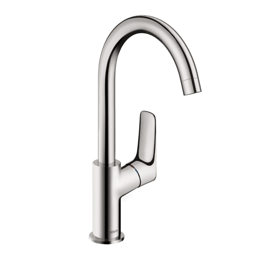 Hansgrohe Logis 210 Single-Hole Lavatory Faucet, Chrome