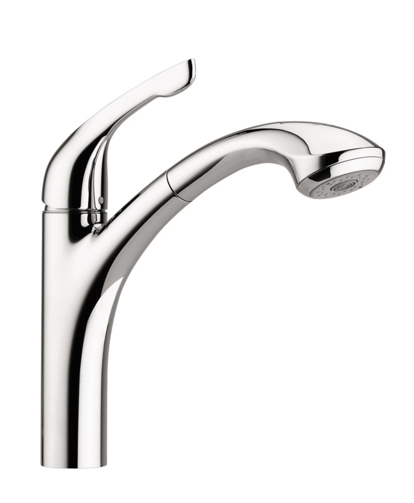 Hansgrohe Allegro E 2-Spray Pull-Out Kitchen Faucet, Chrome