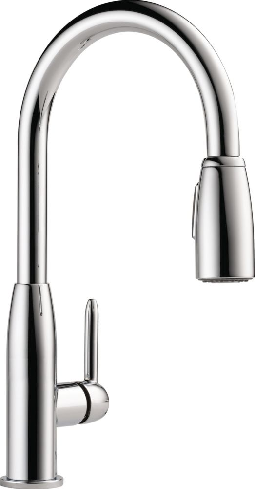 Peerless Single Handle Pull Down Sprayer Kitchen Faucet In