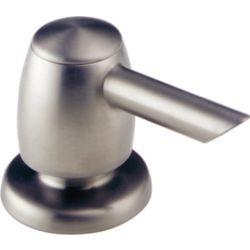Delta Soap Dispenser, Stainless Steel