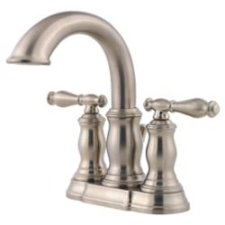 Pfister Hanover 2 Handle Bathroom Faucet in Brushed Nickel