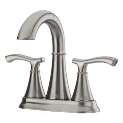 Pfister Ideal Pull Out 2 Handle Bathroom Faucet in Brushed Nickel