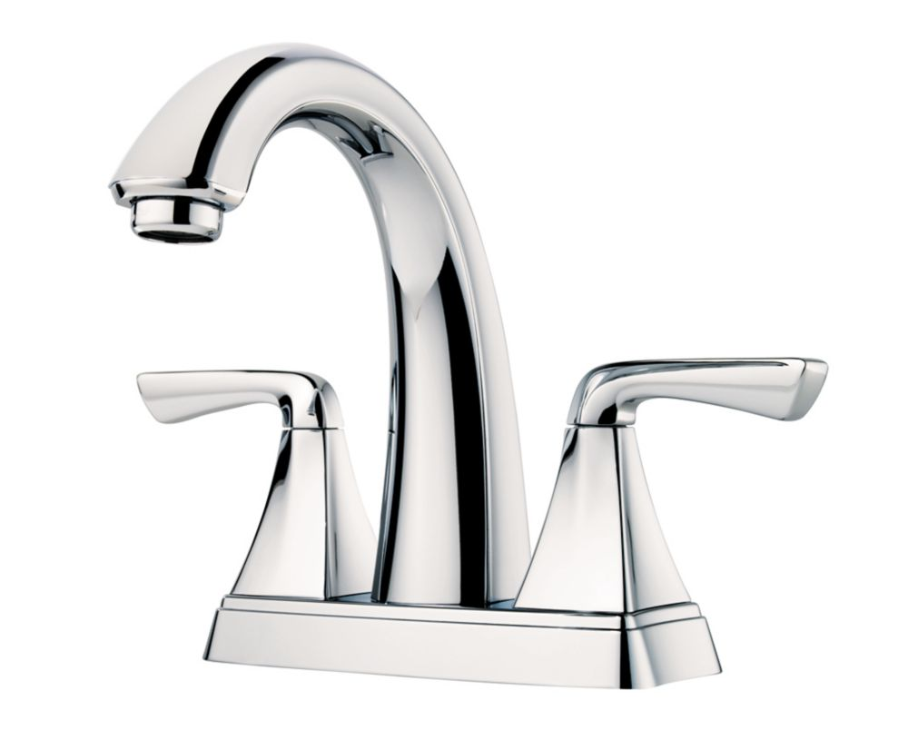 Pfister Selia 2 Handle Bathroom Faucet in Polished Chrome