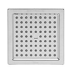 Square Raincan Showerhead in Polished Chrome