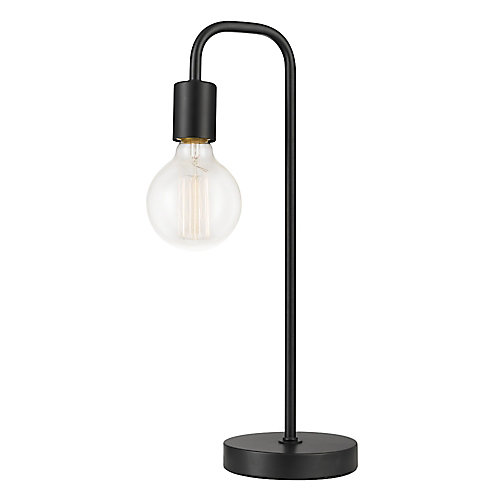 Holden 18 inch Table Lamp, Black Finish