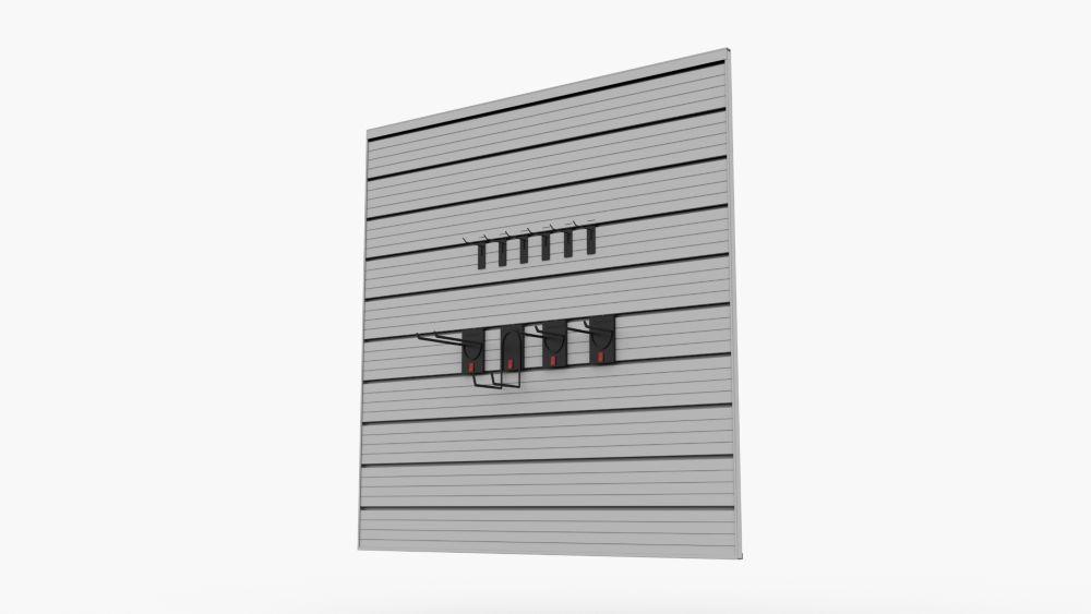 Track Wall 16 sq. ft. Garage Storage Value Pack