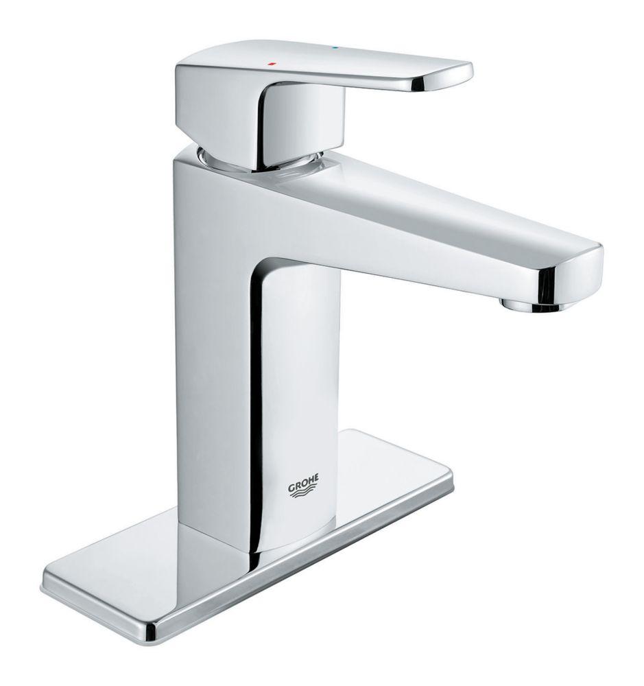 GROHE Tallinn 4-inch Centerset Single-Handle Bathroom Faucet in Starlight Chrome