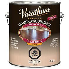 Varathane Diamond Wood Finish Oil Based Floors Satin 3.78L