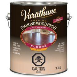 Varathane Varathane fini diamant pour bois à base d'huile planchers satiné 3,78L