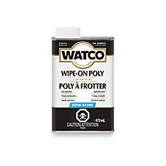 Watco Wipe On Poly Stain 473ml