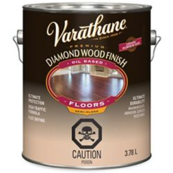 Varathane Varathane fini diamant pour bois à base d'huile planchers semi-lustré 3,78L