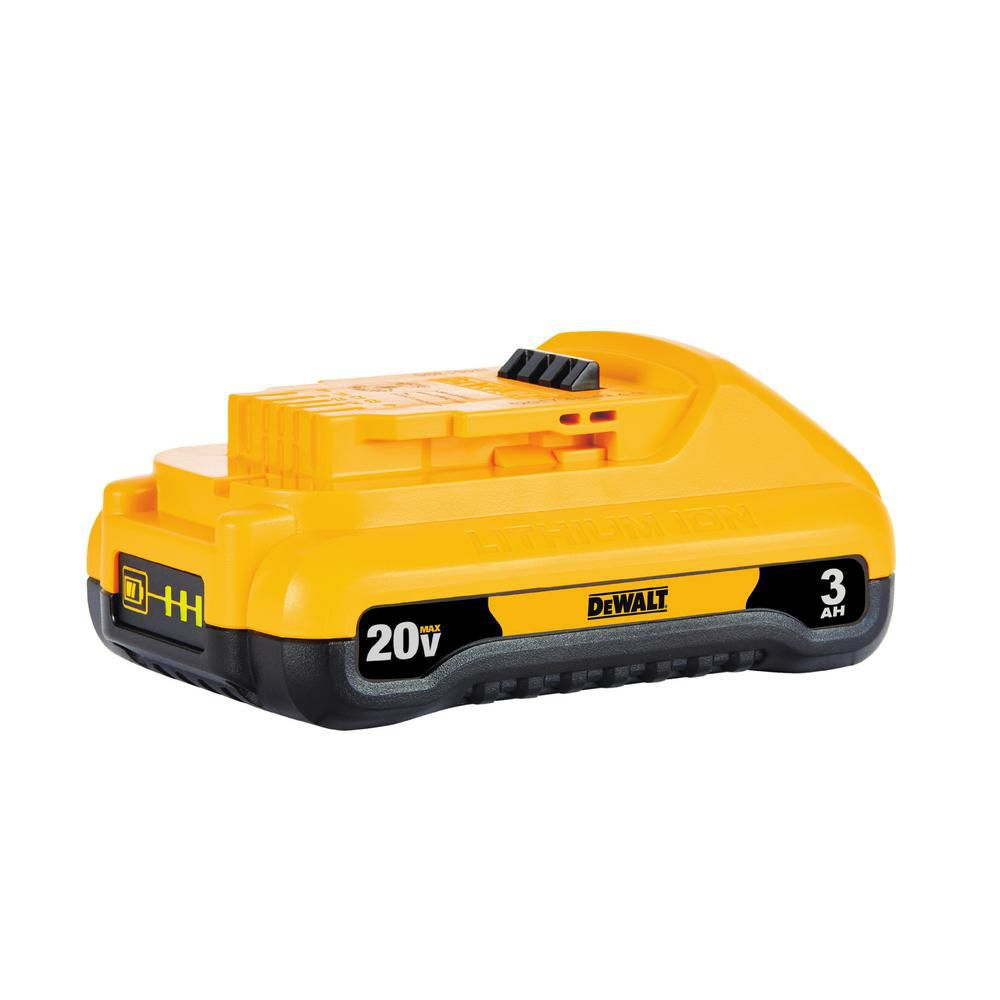 DEWALT 20V MAX 3 Ah Compact Lithium Ion Battery