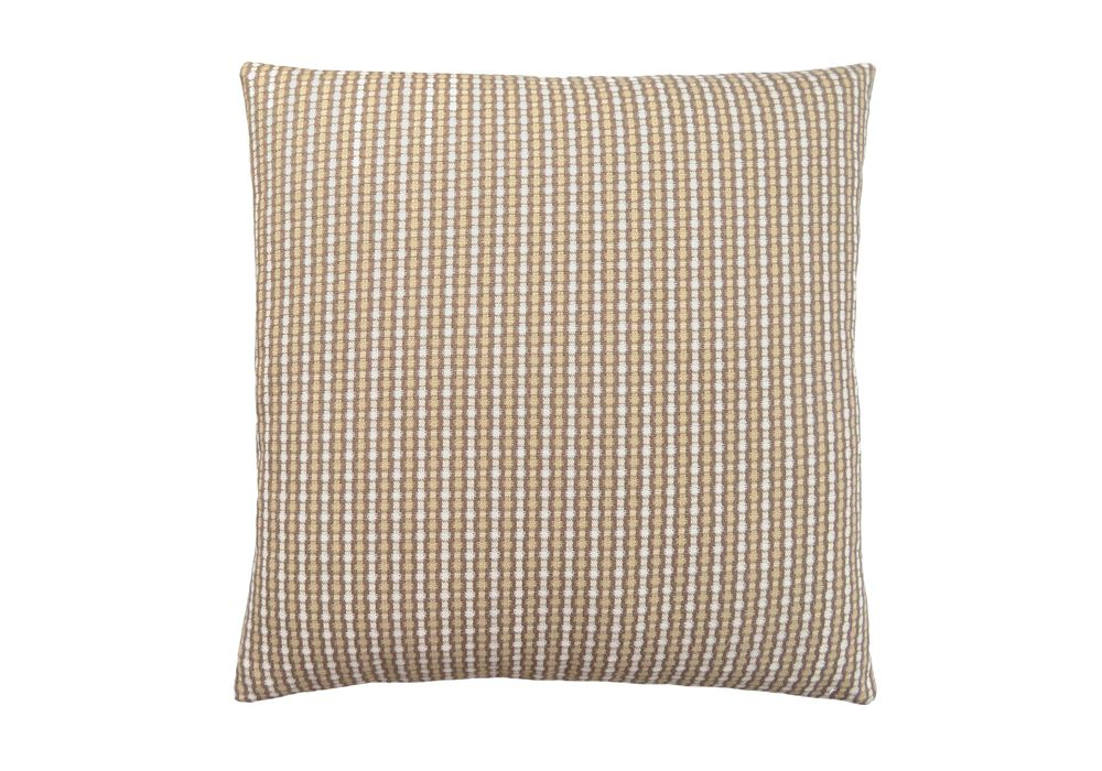 Monarch Specialties 18-inch x 18-inch Light Dark Taupe Abstract Dot Pillow