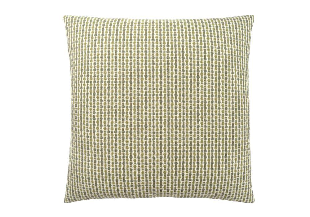 Monarch Specialties 18-inch x 18-inch Light Dark Green Abstract Dot Pillow
